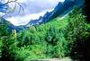 Cyclist in Washington state's North Cascades National Park - B wa cascades 7 - 72 dpi