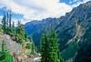 Cyclist in Washington state's North Cascades National Park - B wa cascades 17 - 72 dpi