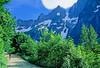 Cyclist in Washington state's North Cascades National Park - B wa cascades 11 - 72 dpi
