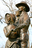 Texas - Statue in Ozona, dedicated to state's pioneer families  - 72 dpi -1008