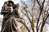 Texas - Statue in Ozona dedicated to state's pioneer families -  C8e-'08-3081 - 72 ppi