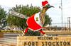 Texas - Paisano Pete Roadrunner in town of Fort Stockton - C8b-'08-1817 - 72 ppi