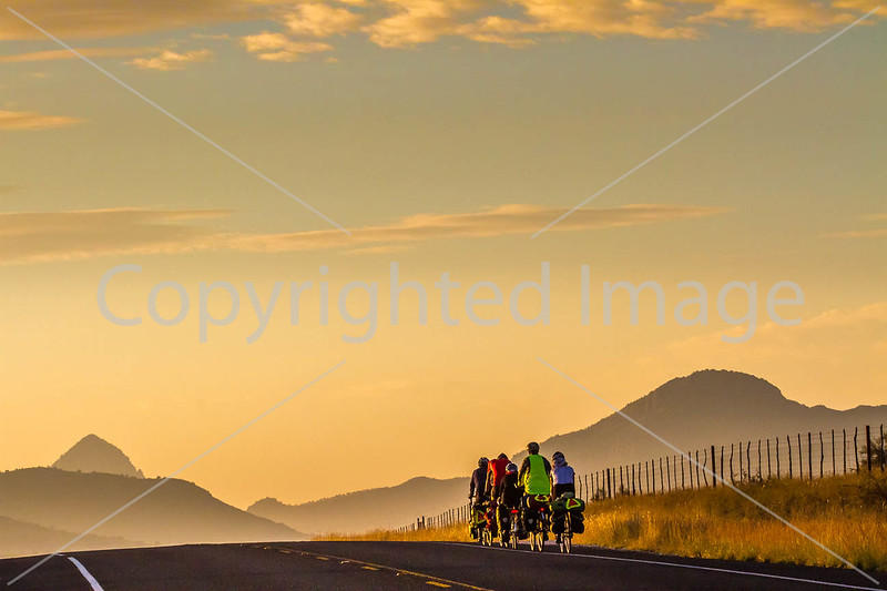 Southern Tier riders, Fort Davis to Alpine, Texas - C4-0046 - 72 ppi-2