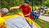 ACA - TransAm - Farmington to Johnson's Shut-Ins - C2-0271 - setting up camp at Johnson's Shut-Ins - 72 ppi