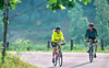Cyclists at Calvin Coolidge Homestead at Plymouth Notch, Vermont - 9 - 72 ppi-2