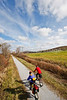 Cyclist(s) on Vermont's Missisquoi Valley Rail Trail-0117 - 72 ppi