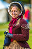 Participant at 150th anniversary Civil War reenactment in St  Albans, Vermont - C1-0240 - 72 ppi-2