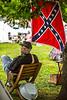 Reenactors in 150th anniversary Civil War event in St  Albans, Vermont - C1-0866 - 72 ppi