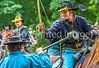 Reenactors in 150th anniversary Civil War event in St  Albans, Vermont - C1-0738 - 72 ppi