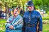 Reenactors in 150th anniversary Civil War event in St  Albans, Vermont - C1-0791 - 72 ppi