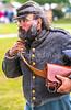 Reenactors in 150th anniversary Civil War event in St  Albans, Vermont - C1-0647 - 72 ppi