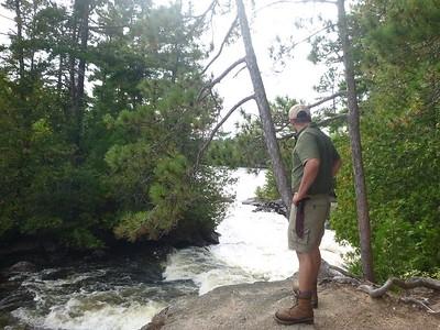 Lower Basswood Falls