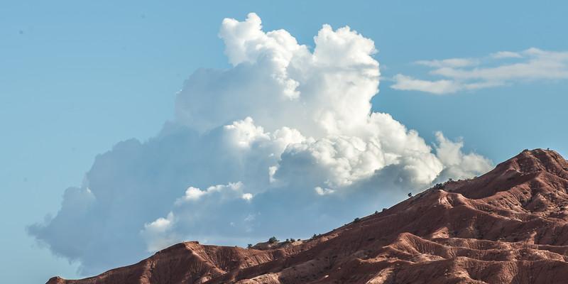 Cloud Eruption
