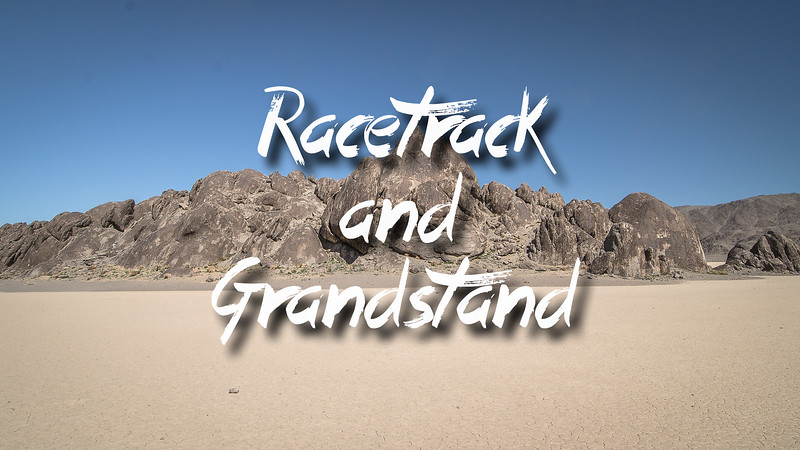 Racetrack and Grandstand Slideshow with Music