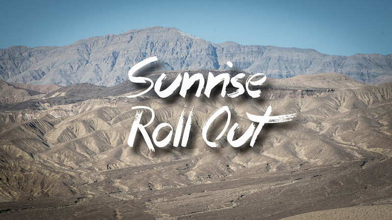 Sunrise Roll Out Slideshow with Music