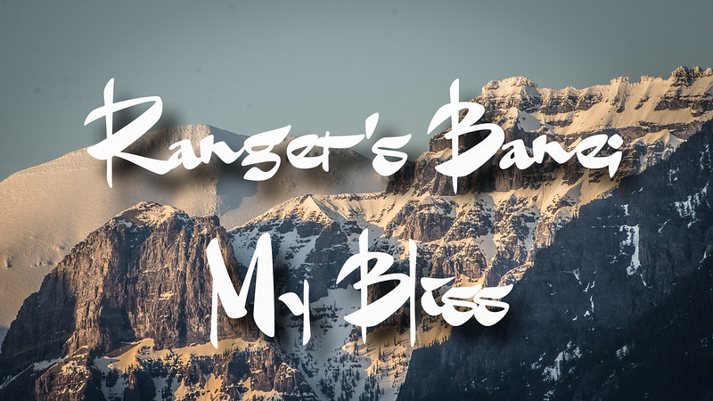 Ranger's Bane; My Bliss Slideshow With Music