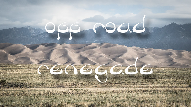 Off-Road Renegade Slideshow with Music