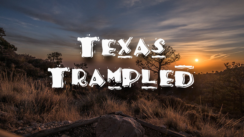 Texas Trample Slideshow with Music