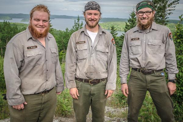 Isle Royale Trail Crew