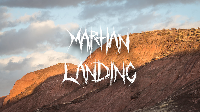 Martian Landing Slideshow with Music