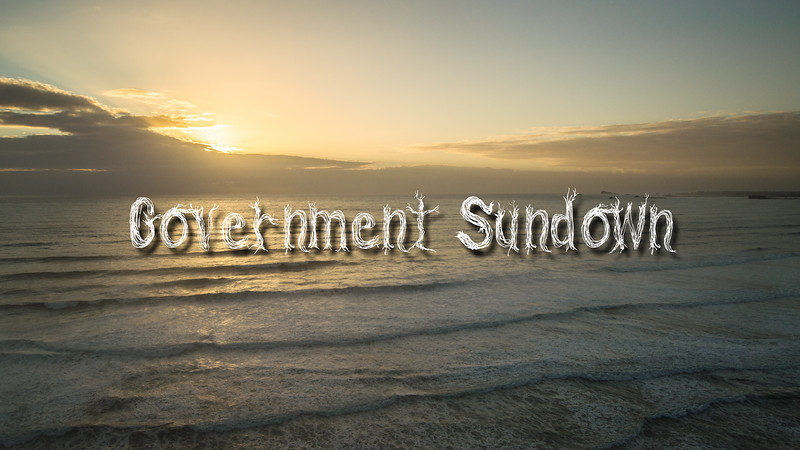 Government Sundown Slideshow with Music