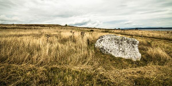 Rock, Grass, Cloud