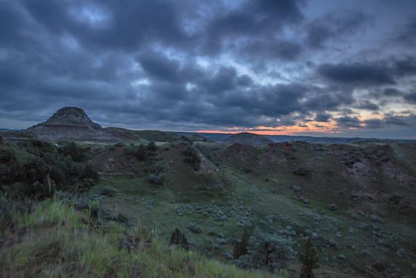 Sun Set Over South Unit
