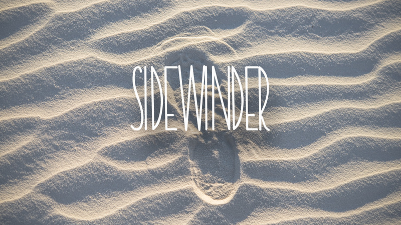 Sidewinder Slideshow with Music