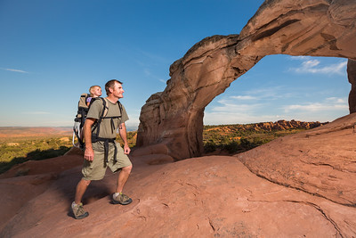 Father Daughter Hike of Discovery (Arches National Park)