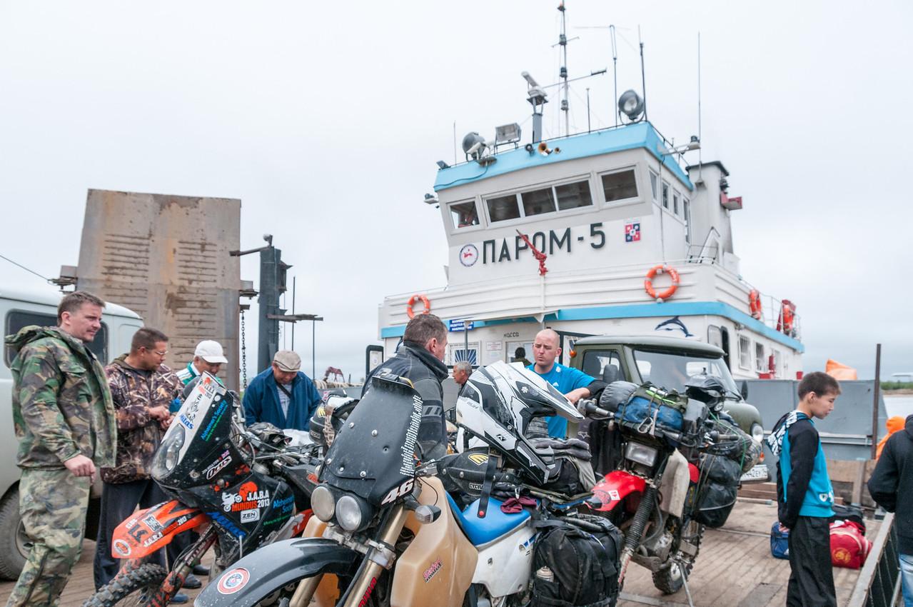 Ferry to Yakutsk