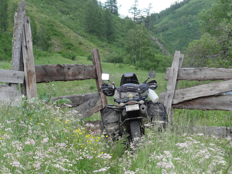Overgown track: Seeking a new route through the Altai Republic