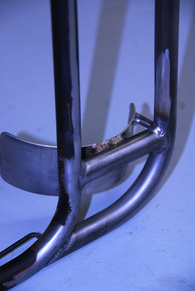 Pannier frame extension with tooltube holder