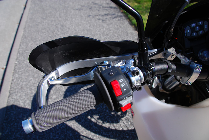 KLS switchgear added 'Off' position to lights. ASV clutch lever is span adjustable