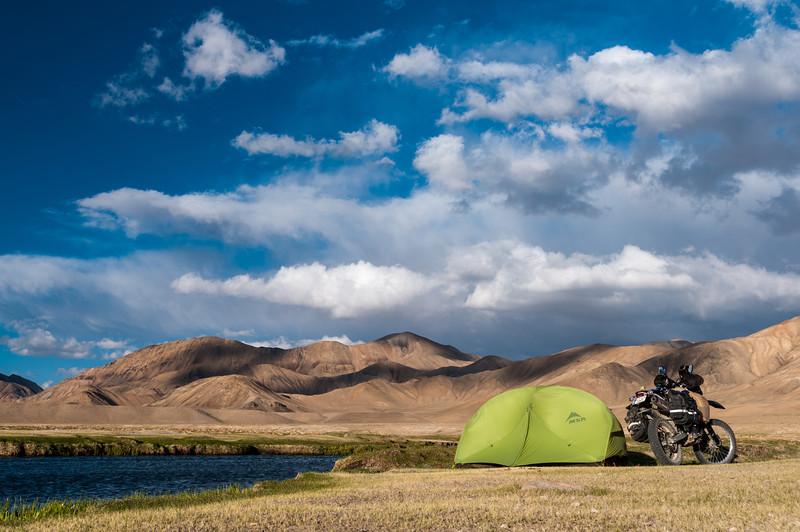 Bulunkul (lake). Tajikistan