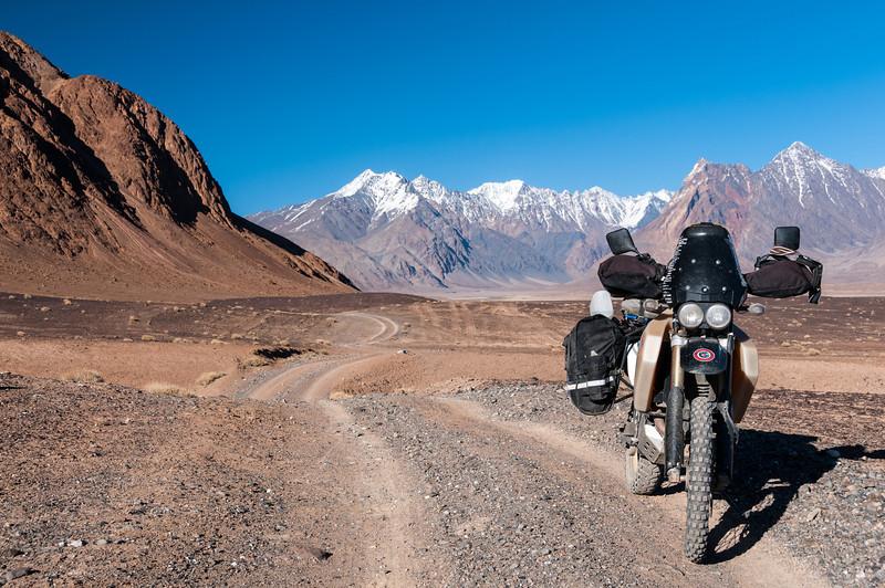 Muzkol Range. Bartang Valley. Tajikistan
