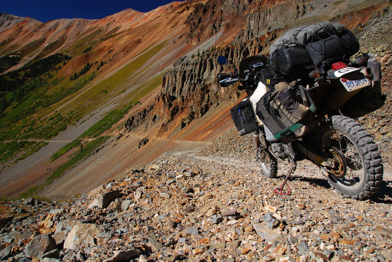 Ophir Pass on the TAT,  CO