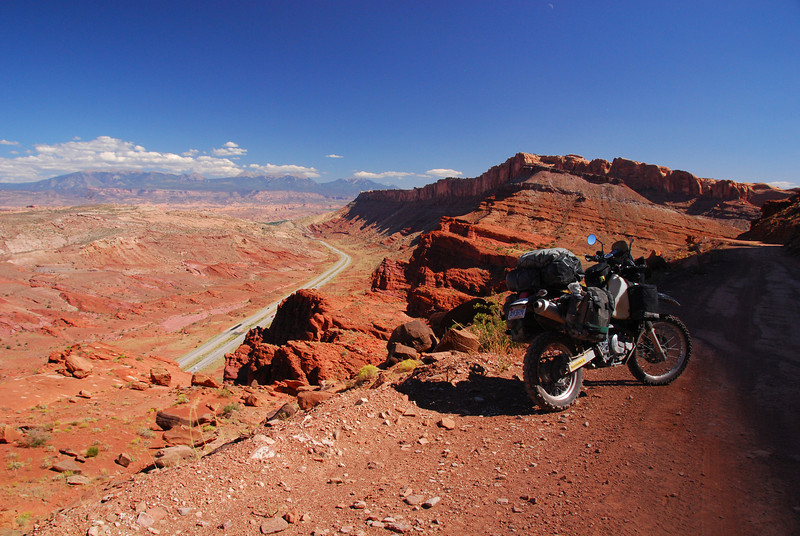 On the TAT NW of Moab,  UT