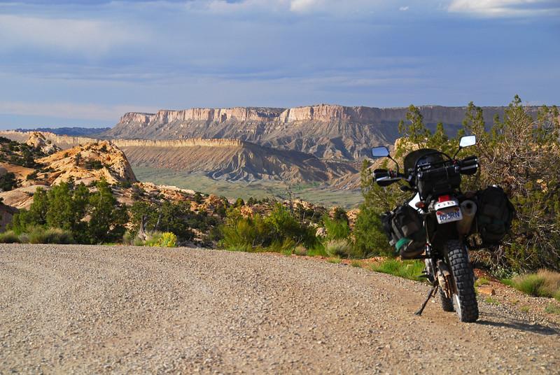 Burr Trail Road, east of Boulder, Utah