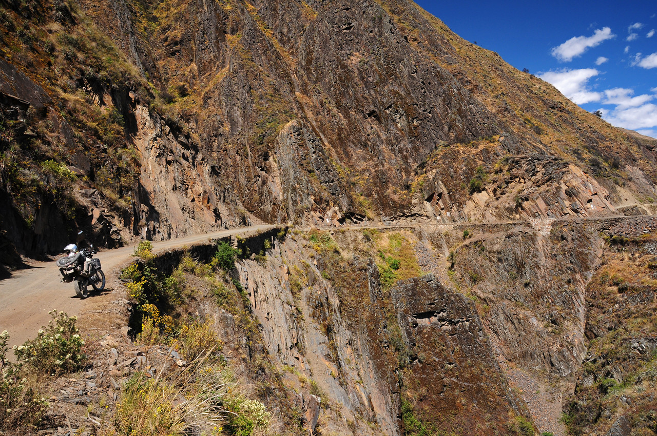 Llapo Road. Peru.