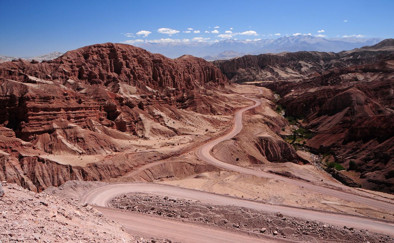 Mollebaya (Arequipa) - Torata road