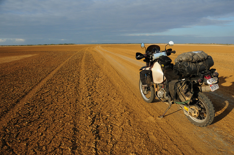 Track to Punta Gallinas, Guajira.  Colombia.