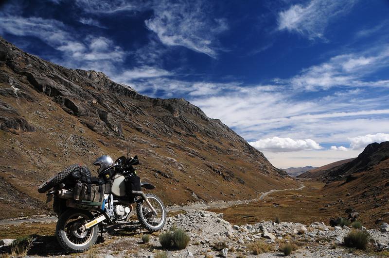 Quebrada Conde.  Catac - Chavin Road.  Cordillera Blanca, Peru.