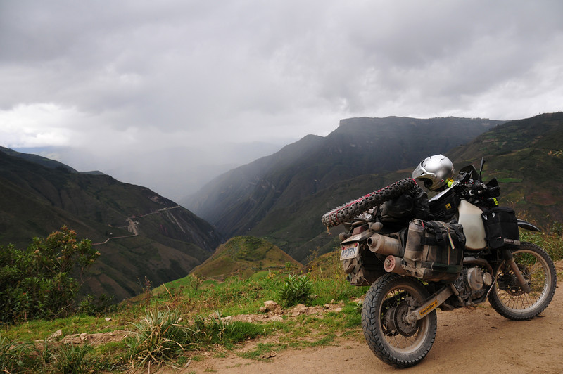 AM-111. Road to Kuelap Ruins, Peru