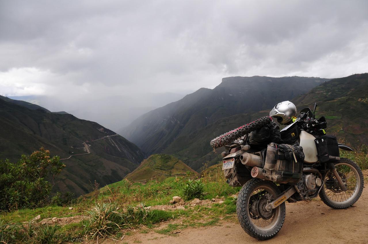 AM-111. Road to Kuelap Ruins, Peru