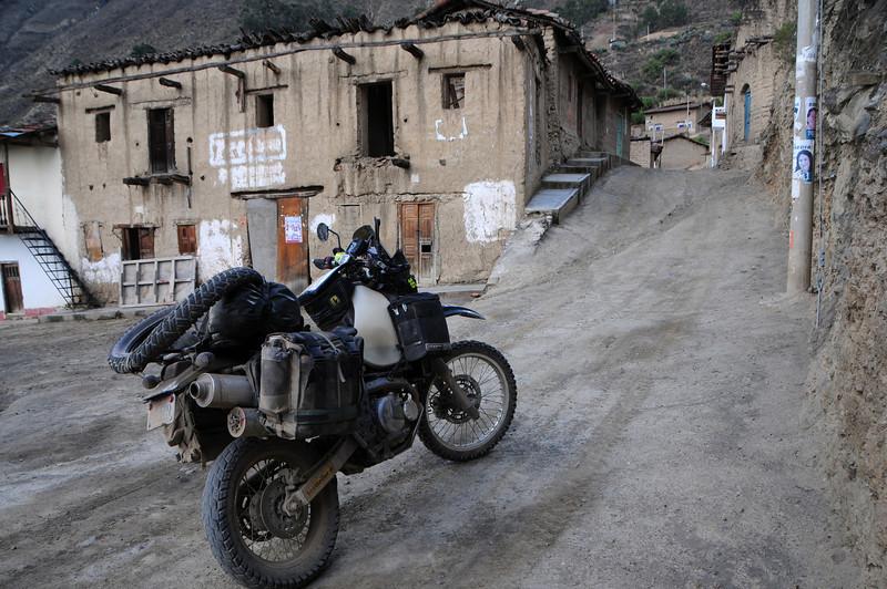 Bambas Village.  Ancos - La Pampa road. Peru.