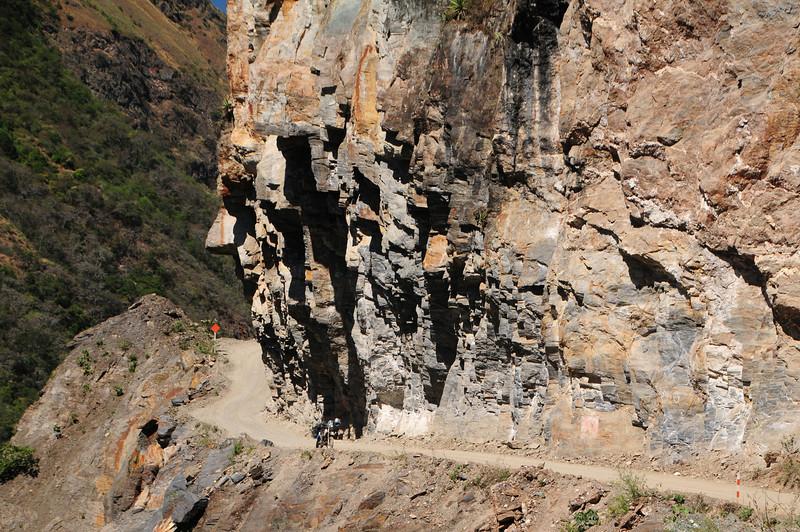Santa Maria - Santa Teresa Road (To Machu Picchu). Peru