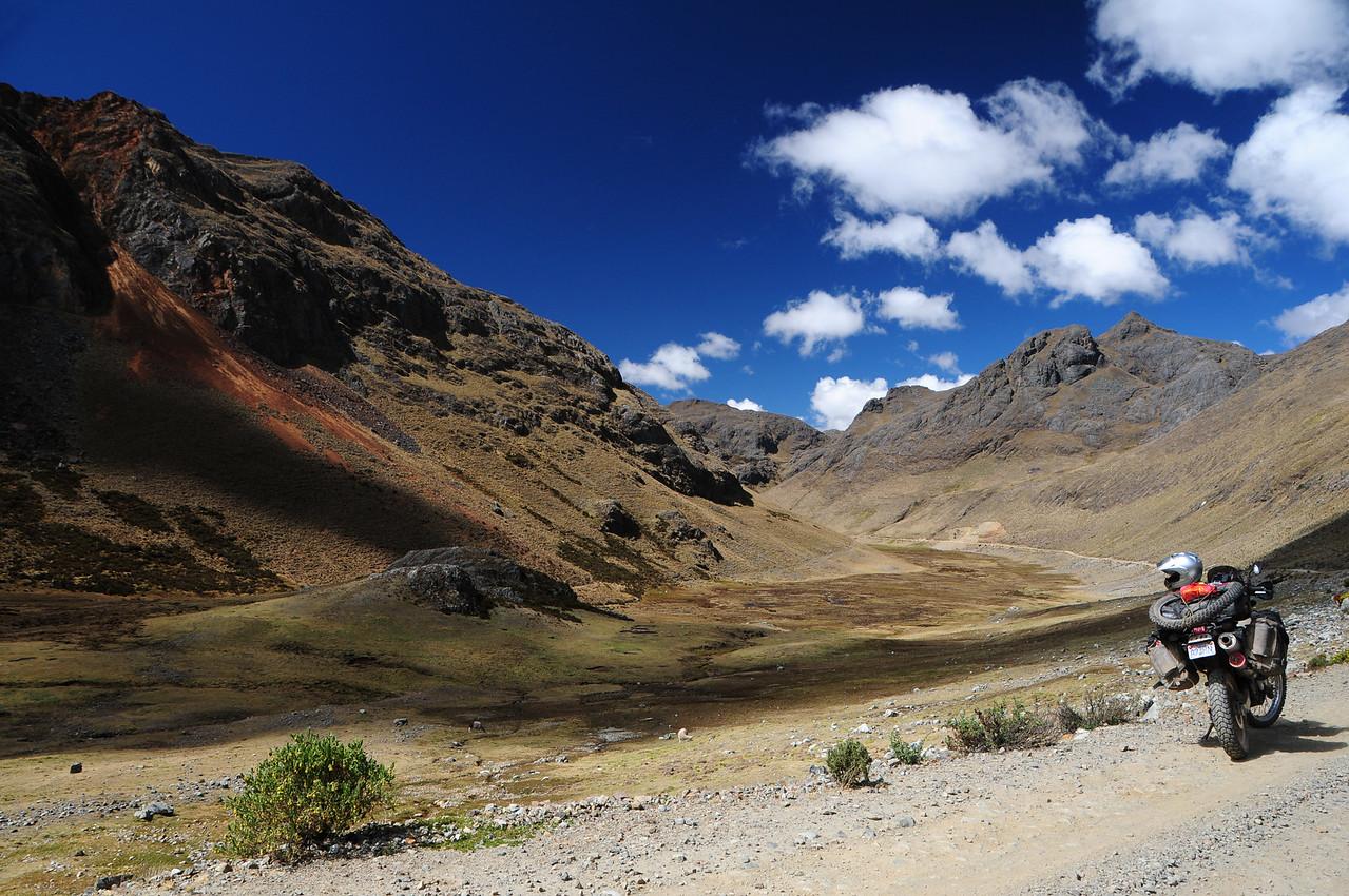 Lircay - Ayacucho Road. Peru