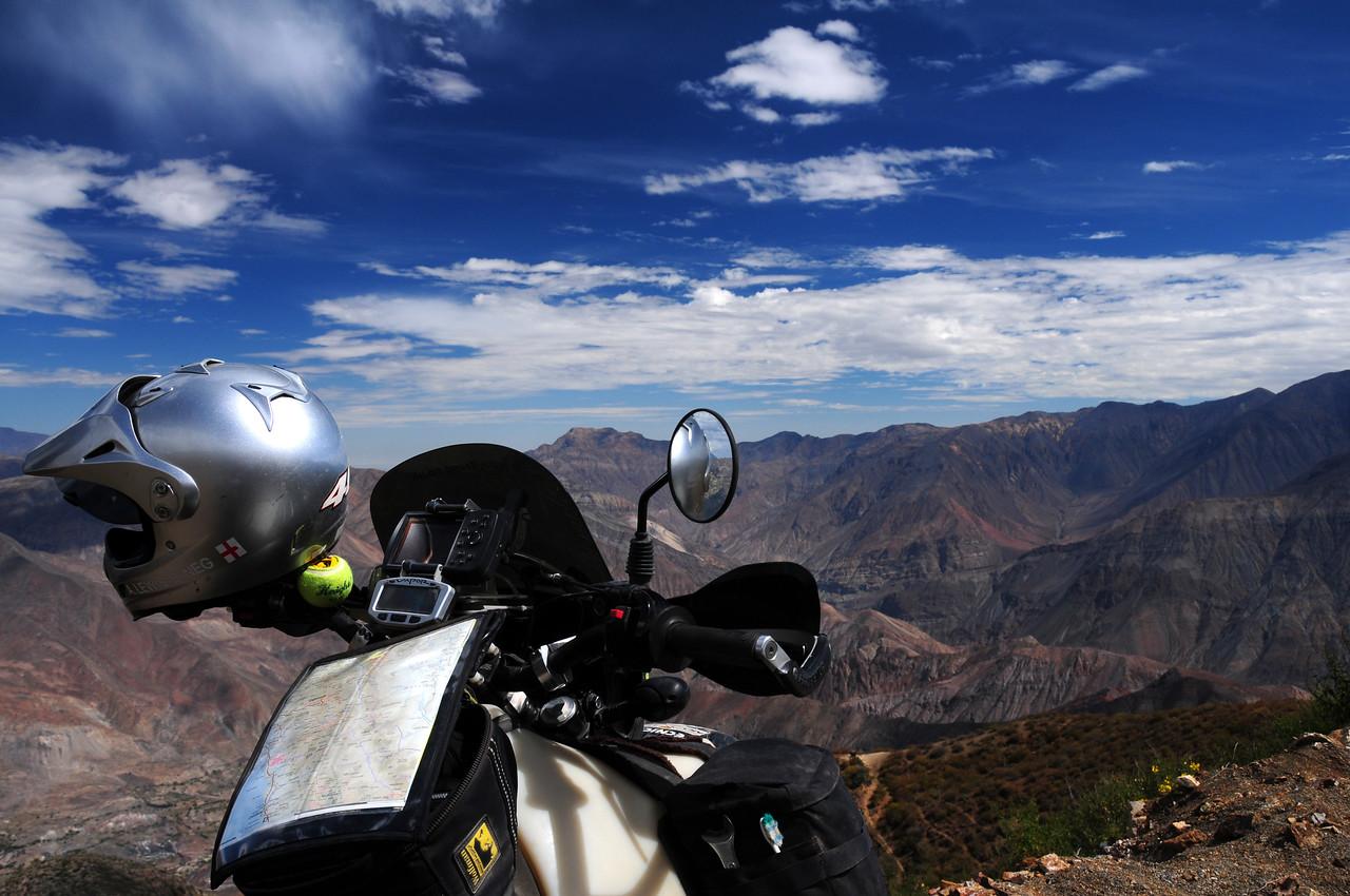 Cabana - Ancos road. Peru.