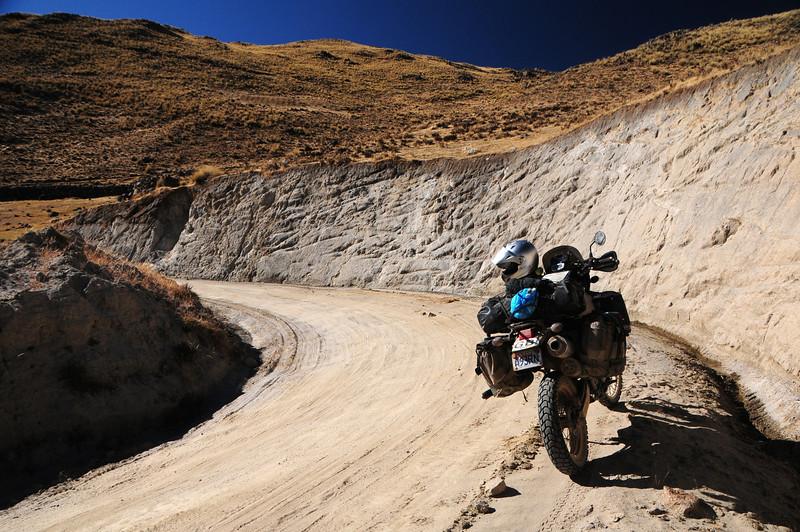 Santo Tomas - Veille road. Peru