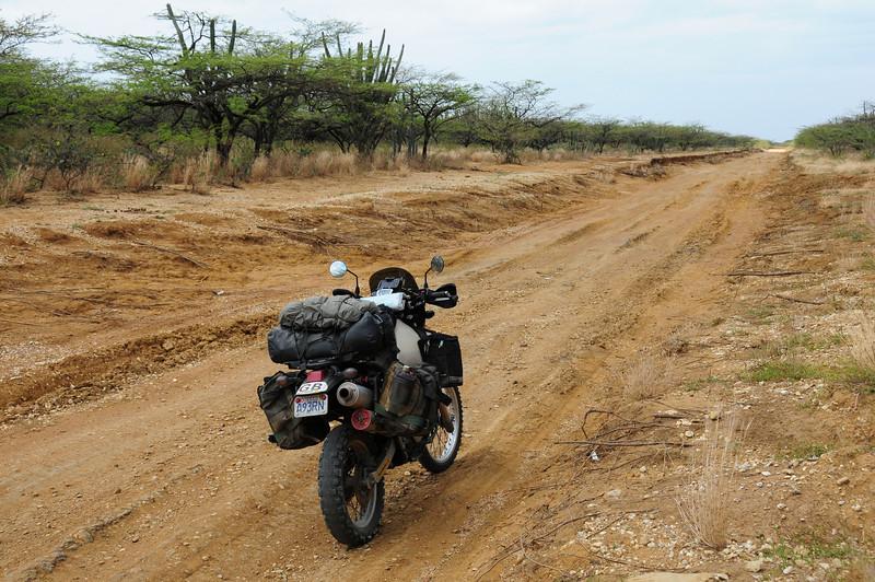 Track to Cabo de La Vela.  Colombia.
